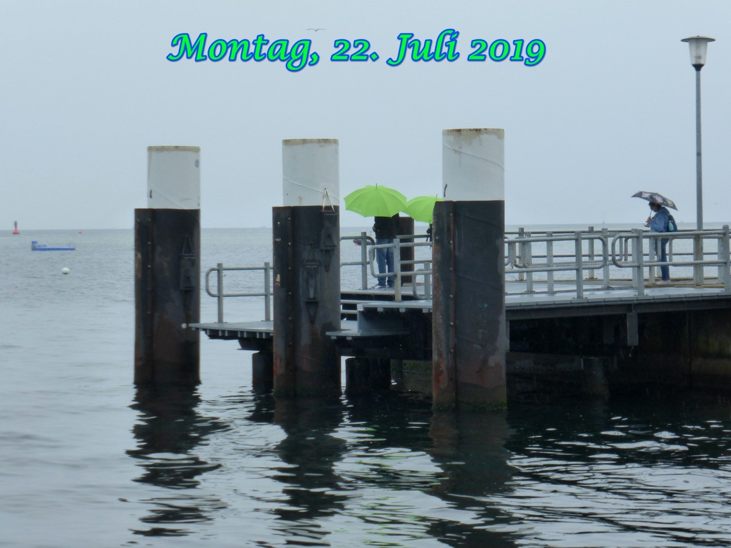 Regentag in Laboe