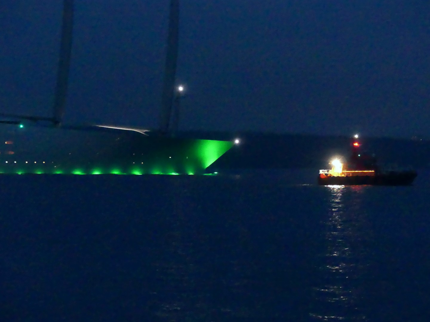 Sailing Yacht A nimmt Abschied