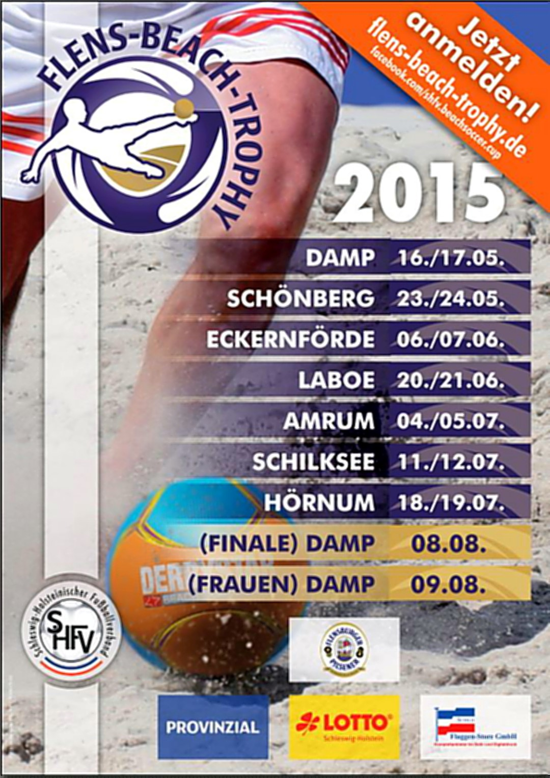 Plakat Flens Beach Trophy