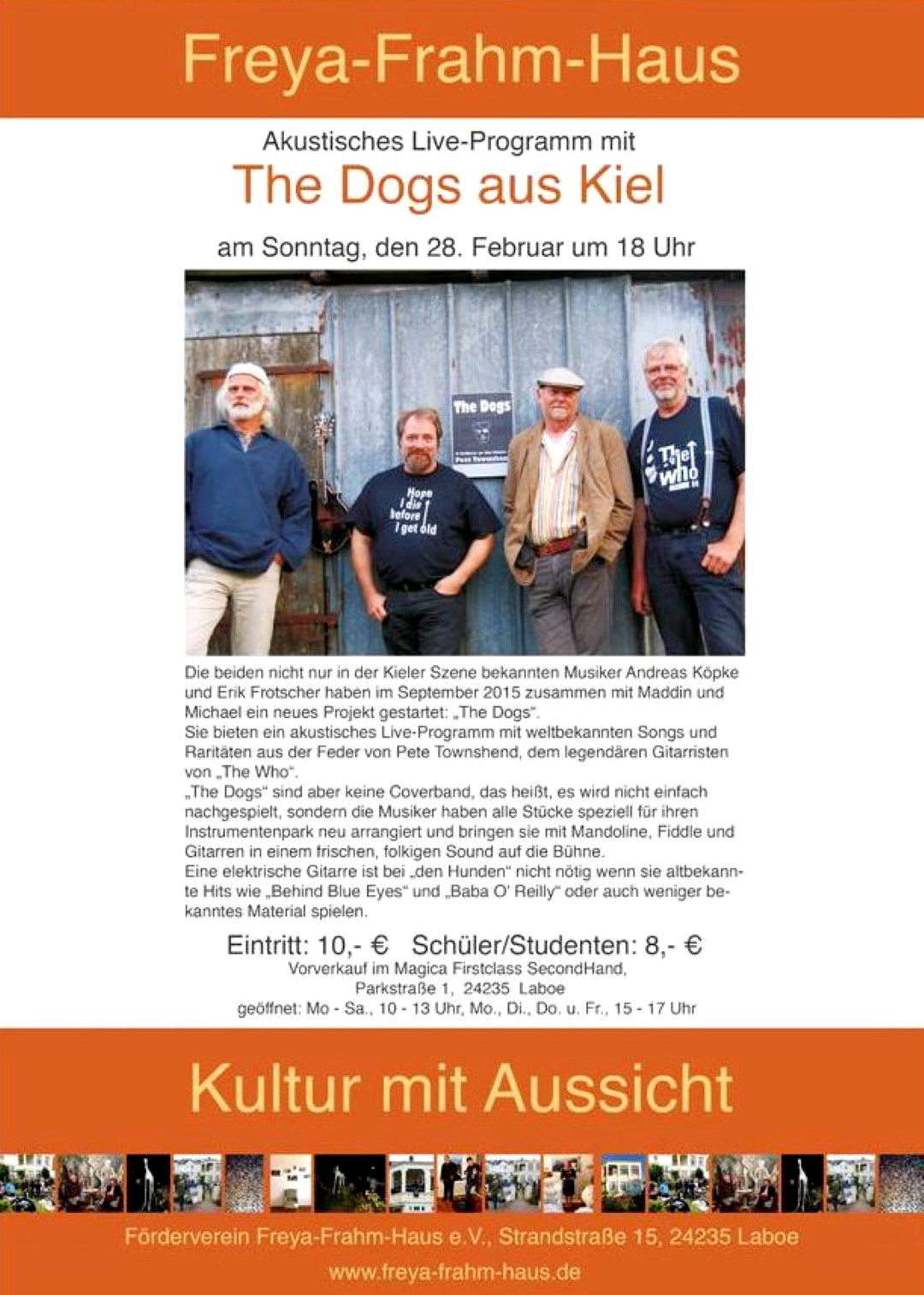 "Plakat ""The Dogs"""